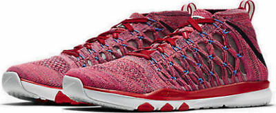 ea3eb5e0917c New Nike Train Ultrafast Flyknit Men s Running Shoes Plum Fog Crimson 843694  500
