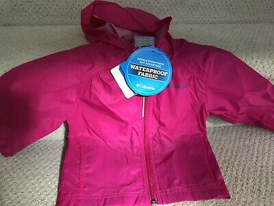 6bd42d188 NWT Columbia Youth Child Toddler Baby 2T Switchback Rain Jacket Waterproof  Pink