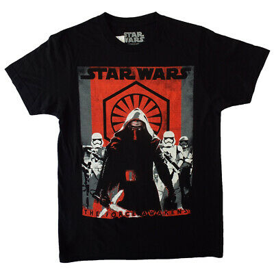 Star Wars T-Shirt--Men's fit (Small) The Force Awakens Kylo Ren- Troopers -NEW