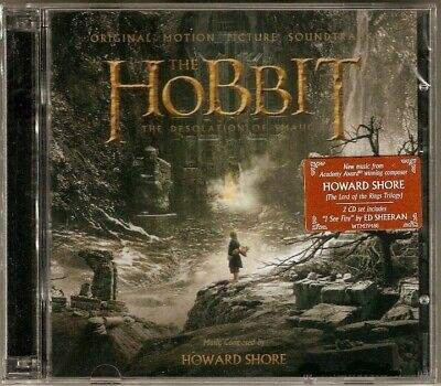 THE HOBBIT: THE DESOLATION OF SMAUGH / Howard Shore 2CD OST