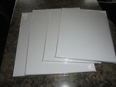 Artists Canvas Set Of 4 Blank Brand New Unopened Frames