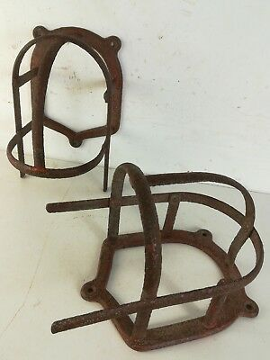 2 Victorian tack Bridle Hook Architectural Antique Horse Riding Old Rack Coat