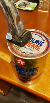 2 Vintage Items Motor Oil Can and Pour Spout