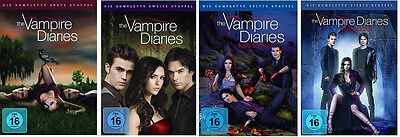 The Vampire Diaries Completare Stagione 1 2 3 4 Serie Tv 21 DVD Collection Nuovo