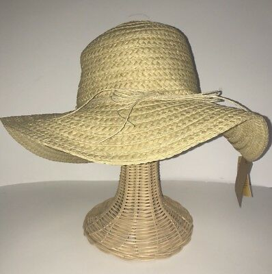 a26c36b032a10 D Y Sunhat Floppy Paper Straw Packable Crushable UPF 50 Women s Shade  Natural