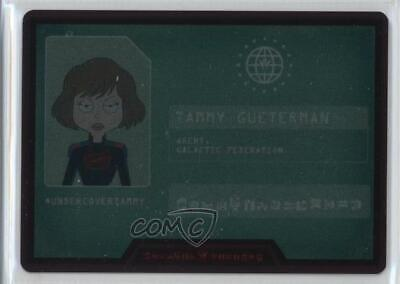 2018 Cryptozoic Rick and Morty Season 2 Metal Cards #M3 Tammy Gueterman Card d8k