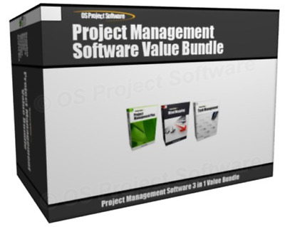 Value - Project Management MS Project Compatible Professional 2019 Task Software