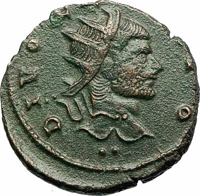 CLAUDIUS II Gothicus 270AD Ancient Roman Coin Eagle Deification issue  i77190