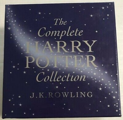 The Complete Harry Potter Collection (Bloomsbury, JK Rowling, 1-7, OOP) Canadian