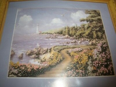 Bead Point Picture Kit Design Works Crafts Destiny Point Lighthouse #2398 NEW