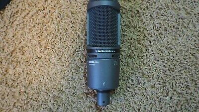 Audio Technica AT2020 Cardioid/Condenser Microphone (Slightly Used!)