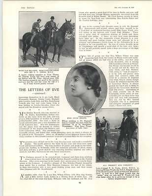 1929 Evelyn Baird Betty Rumbold Evelyn Laye William Woods Brigade Mascot
