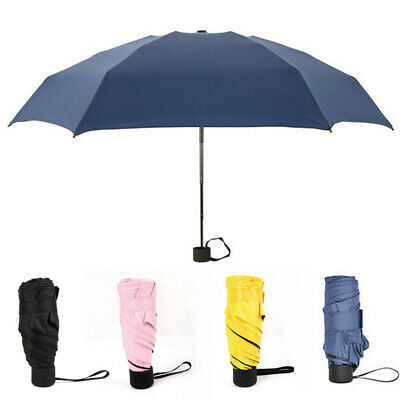 Large Jack Russell Folding Umbrella Dog Windproof Rain Brolly Automatic 116cm