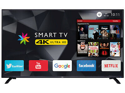 "TV 50"" LED 4K ULTRA HD Android Multisystem TREVI UHD 5002 SMART pollici"