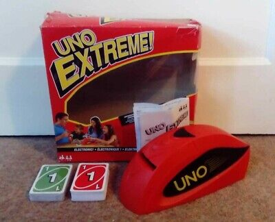 Uno Extreme Electronic Card Game - 100% Complete - Tested And Working