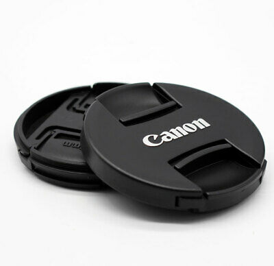 NEW 55mm Center-Pinch Snap-on Front Lens Cap Cover for Canon Free shipping