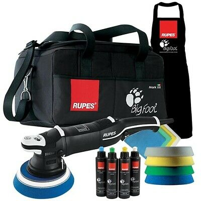 KIT RANDOM ORBITAL POLISHER RUPES BIGFOOT LHR 21 MARK III DLX set cars detailing