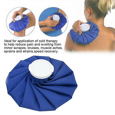 Ice Bag Heat Cold Cooler Pack Reusable Injury Knee Head First Aid Pain Relief UK