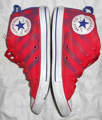 Converse All Star Junior Canvas Trainers Size Uk 5 In Great Condition