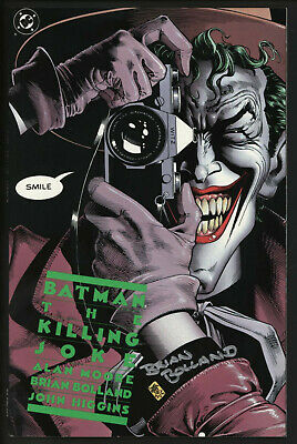 Batman The Killing Joke. NM unread. First print signed by Brian Bolland