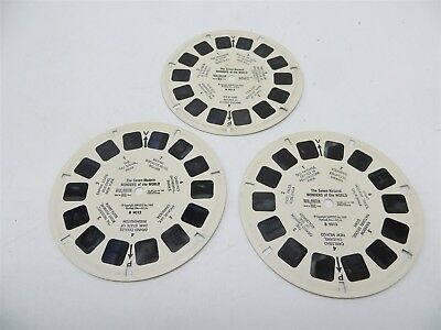 View-Master B901, The Seven Ancient Wonders of the World, 1962, Set of 3 Reels