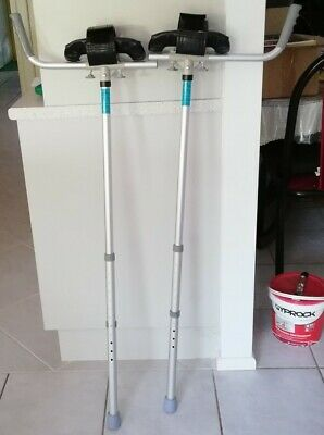 Forearm Crutches, Condition is as new.