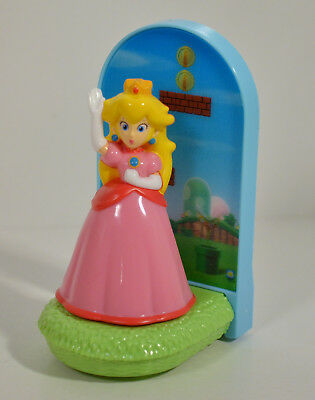 "2013 Princess Peach 3.5/"" McDonald/'s EUROPE Action Figure Super Mario Brothers"