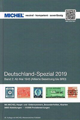 Michel Catalogo Germania Specializzato Volume 2 2019