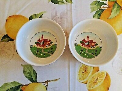 Luxembourg Villeroy & Boch Design Naif LAPLAU  Set of 2 Soup / Cereal Bowl (s)