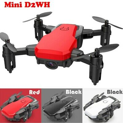 D2WH Mini Foldable With Wifi FPV 2.0MP HD Camera 2.4G 6-Axis RC Quadcopter Drone
