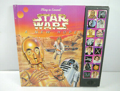 STAR WARS A new Hope PLAY-A-SOUND Buch Kinderbuch mit Sound Publications (MF14)