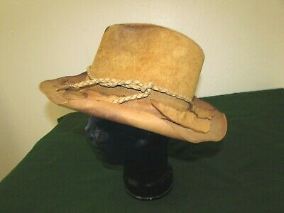 Head n/' Home Copper Durango Vented Leather Hat Made in the USA