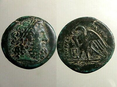 PTOLEMY I BRONZE AE28___Ancient Egypt___GENERAL UNDER ALEXANDER THE GREAT
