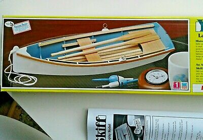 MIDWEST PRODUCTS THE Skiff Kit #967 All Wood Model Boat-WITH