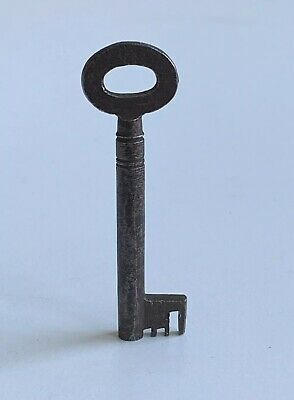 Old Vintage Antique Iron Lock Key - 2.25 Inch -  Architectural Salvage (ref18)