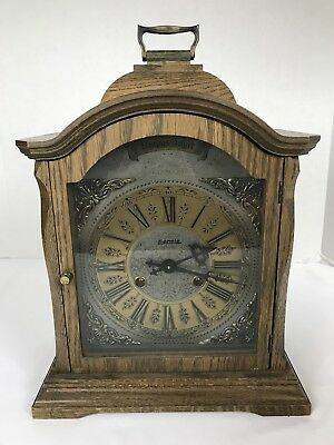 Tempus Fugit Hermle German Mantle clock  As-is 14""
