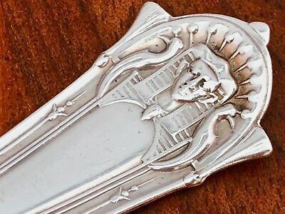 - Rare Whiting Mfg. Co. Sterling Silver Pie Knife: Egyptian, 1875, No Monograms