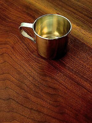 Wallace Sterling Silver Baby / Christening Cup No Monogram Pristine