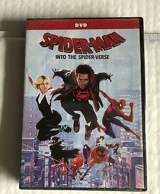 Spider-Man: Into the Spider-Verse 2018 (DVD) Marvel Universe New Free Shipping