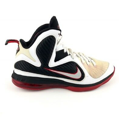 premium selection 5580b 346df Nike Lebron 9 Scarface Hightop Shoes, Mens Sz 10.5, White, Red, Black