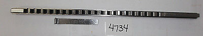"""1/4"""" - C - Hss Standard Keyway Broach With Shim  #404-9607 **New** Pic#4734"""