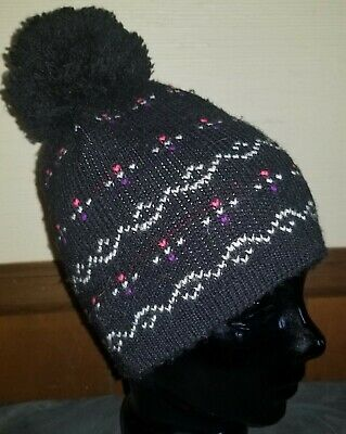 0b8810729fb97 VINTAGE 80 S 90 S WIGWAM Beanie Winter Heavy Warm Knit Ski Hat Retro ...
