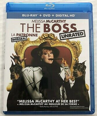 The Boss (Bluray, Dvd, 2016, 2-Disc Set) Canadian