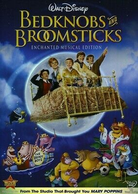 BEDKNOBS AND BROOMSTICKS (DVD, 2009, Enchanted Musical Edition) NEW