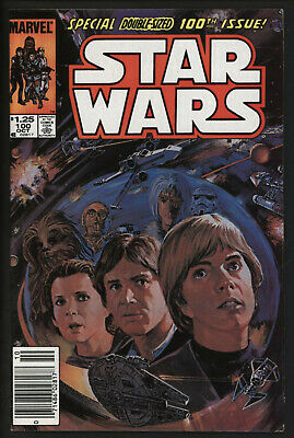 Star Wars 100. Great Painted Cover. Giant Sized Issue Scarce Comic