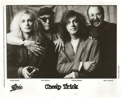 Cheap Trick 8x10 Photo Picture Very Nice Fast Free Shipping #511