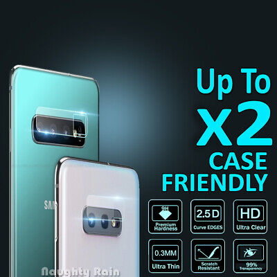 Samsung Galaxy Note 10 S10 Plus S10E Camera Lens Tempered Glass Screen Protector