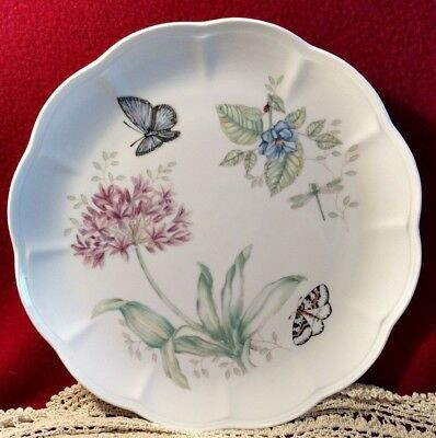 Lenox vintage plate-Butterfly Meadow Eastern Tailed Blue- 11 in