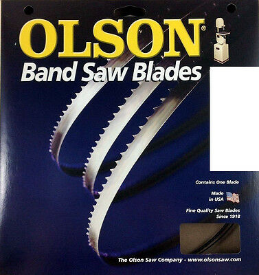 "BAND SAW BLADE Olson 93-1/2"" Band Saw Blade 93-1/2"" Long x 3/16"" Wide 4 TPI"