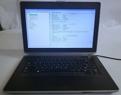 DELL LATITUDE E6430S Intel Core i5-3360M 2 8 GHz 4 GB RAM NO HDD